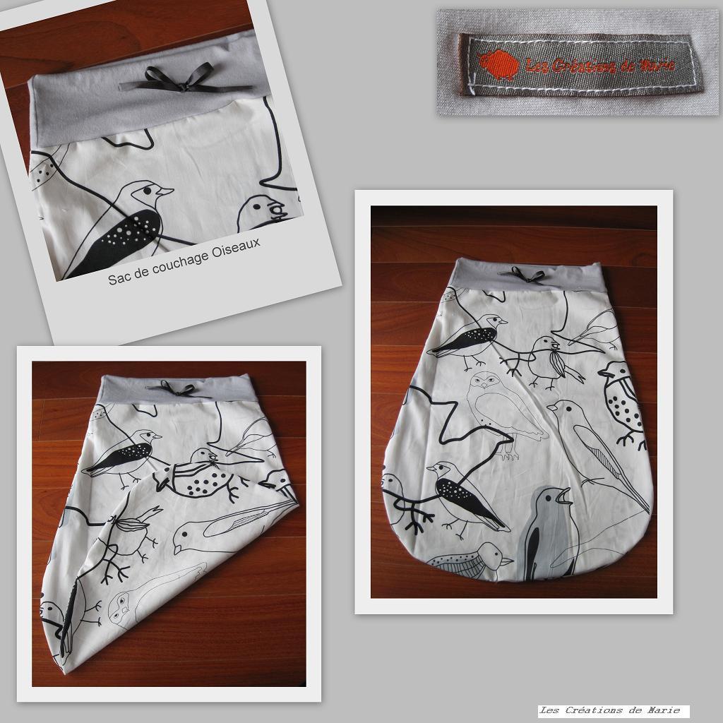 tuto dodobag un sac de couchage b b les cr ations de. Black Bedroom Furniture Sets. Home Design Ideas