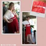 Robe Rouge et Blanche – 111