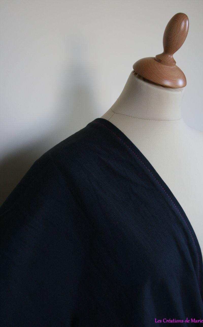 sac de portage anneaux rose et anthracite les cr ations de marie. Black Bedroom Furniture Sets. Home Design Ideas