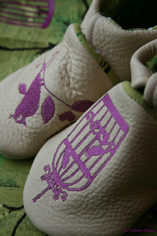 chaussons Oiseaux