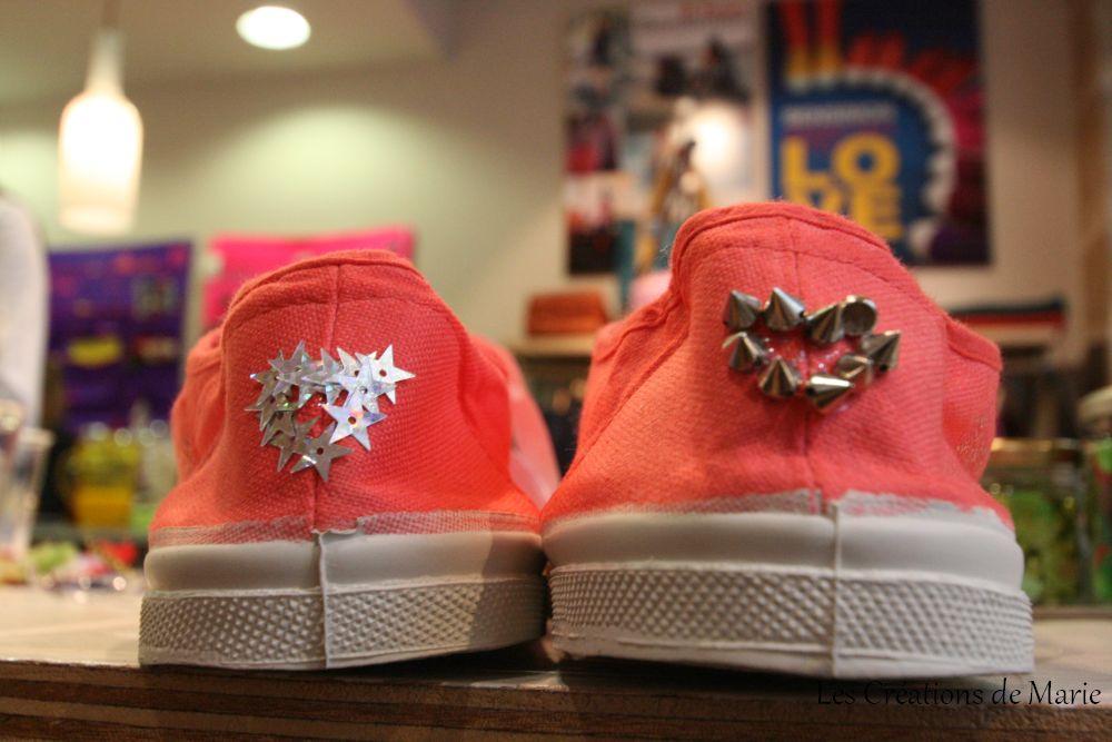 Bensimon Tour - customisation chaussures