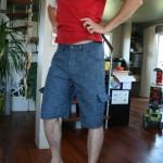 Bermuda en jean's pour l'homme !
