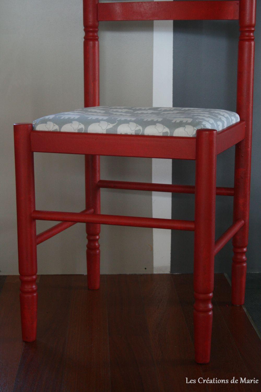 relooker une chaise en paille les cr ations de marie. Black Bedroom Furniture Sets. Home Design Ideas