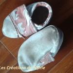 chaussons cuir éléphant