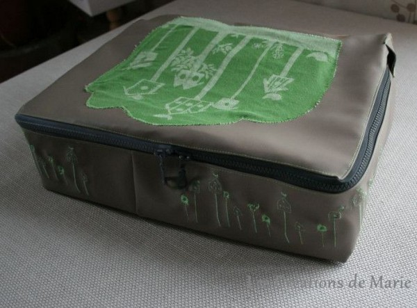 valise en tissus